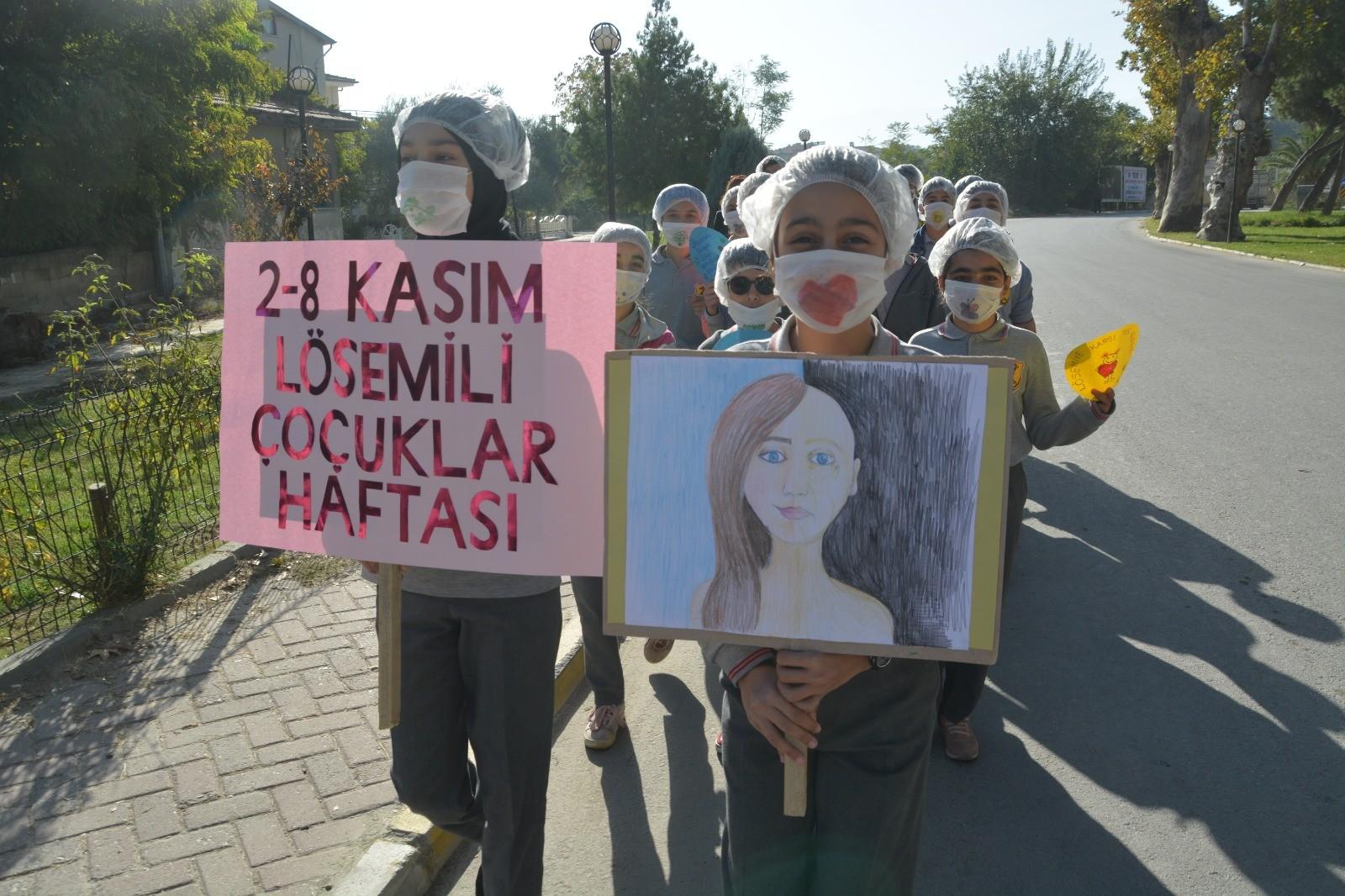 Sarayköy Gazi Ortaokulu, Lösemili Çocuklar Haftası, Ahmet Necati Özba,