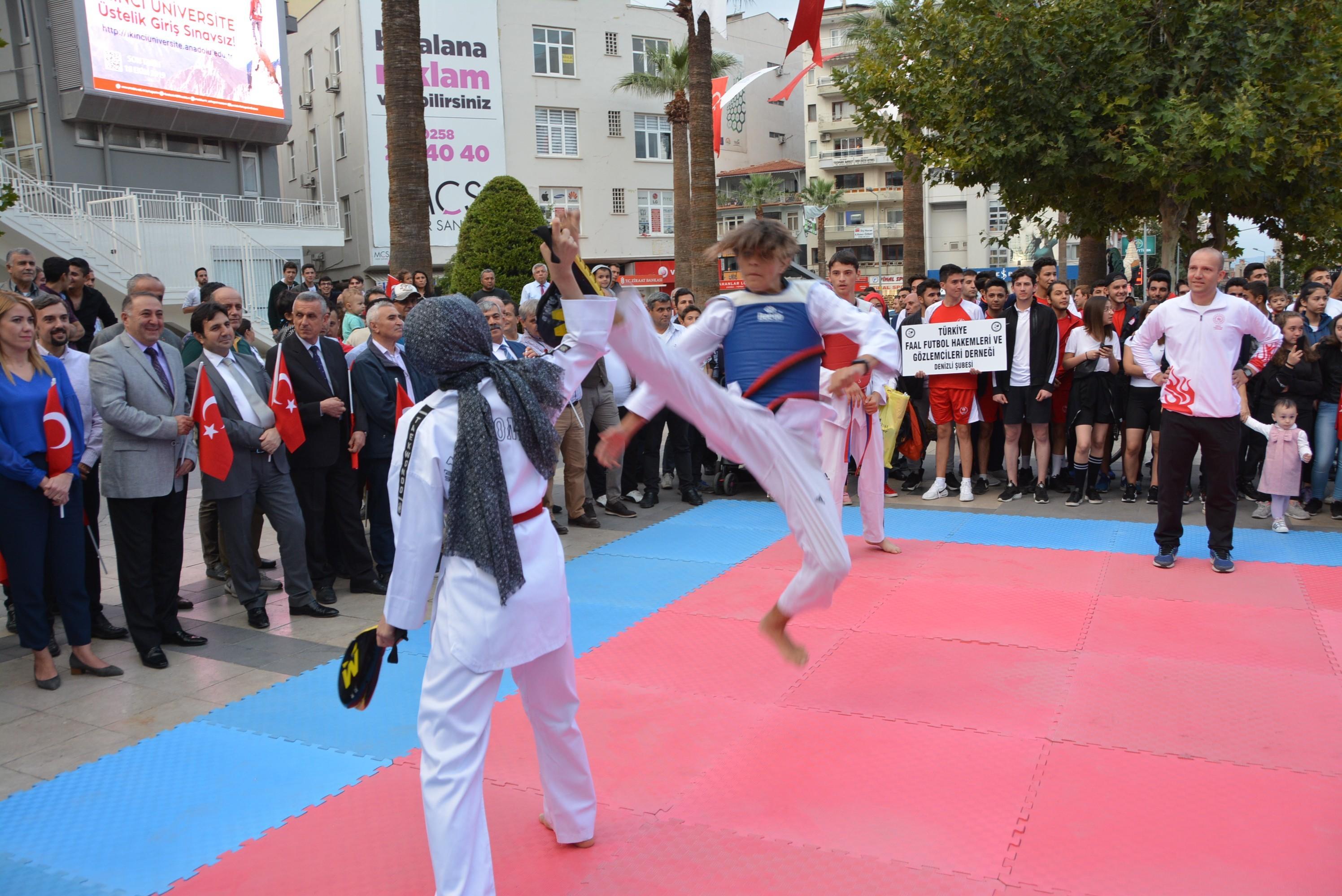 Denizli'de Amatör Spor Haftası