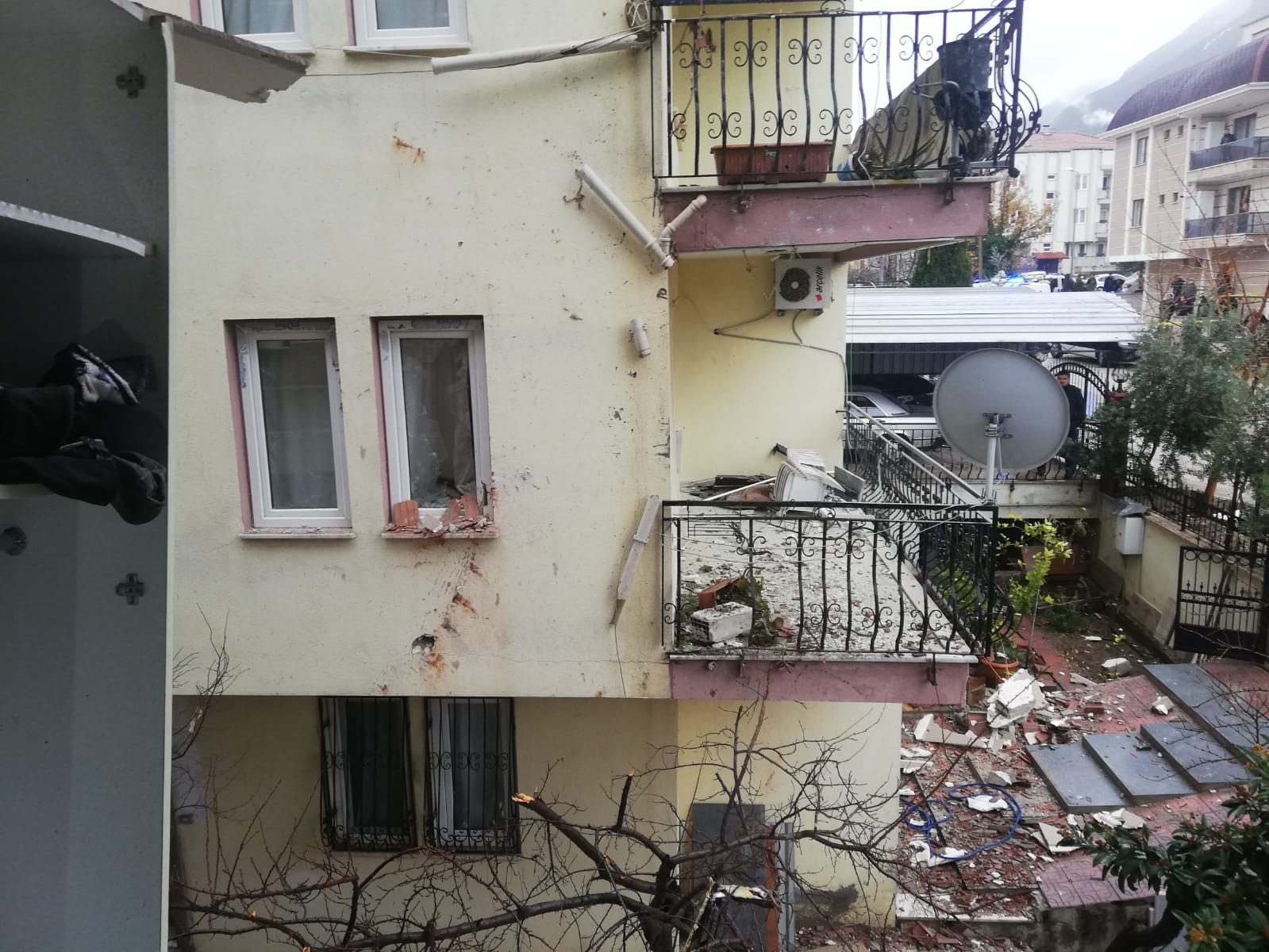 Zeytinköy Mahallesi patlama