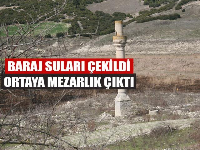Baraj Suları Çekildi Ortaya Mezarlık Çıktı