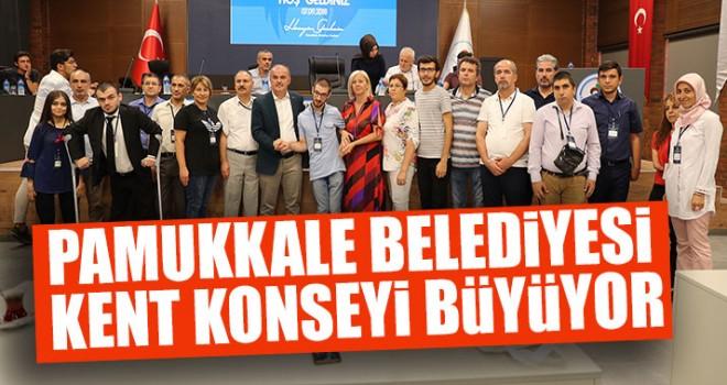 Pamukkale Belediyesi Kent Konseyi Büyüyor
