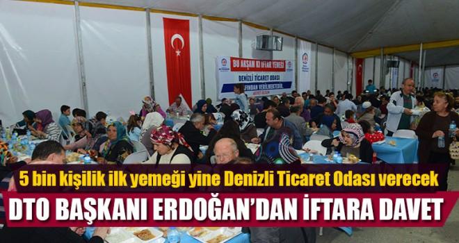 DTO'dan Denizli'ye 5 Bin Kişilik İftar yemeği