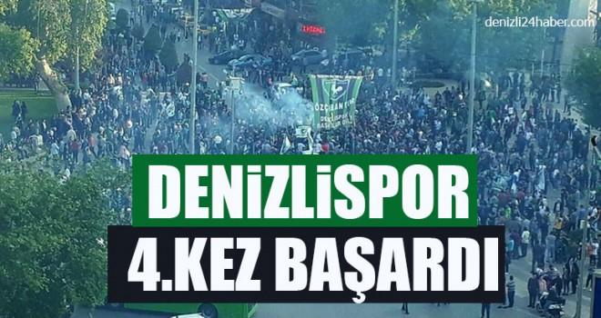 Denizlispor 4.Kez Başardı