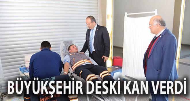 Büyükşehir DESKİ'den 7. geleneksel kan bağışı