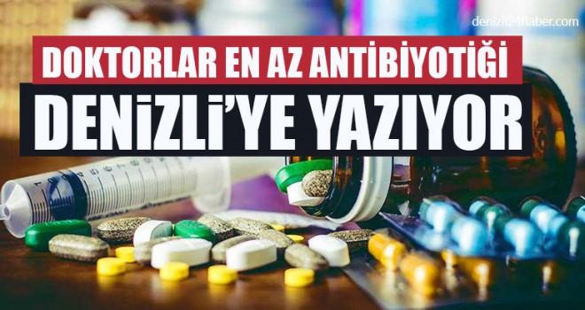 Doktorlar En Az Antibiyotiği Denizli'ye Yazıyor
