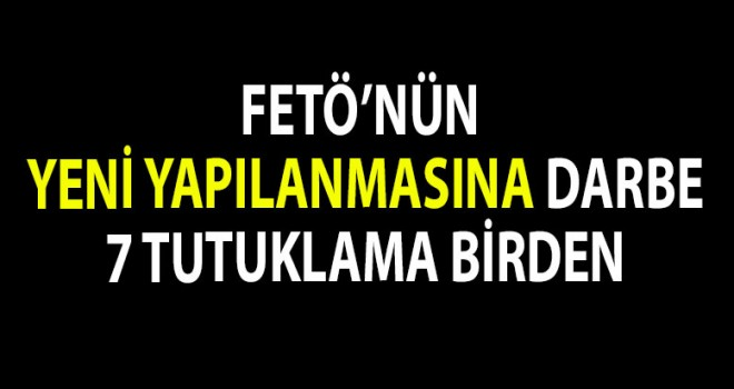 Denizli'de FETÖ'ye darbe!