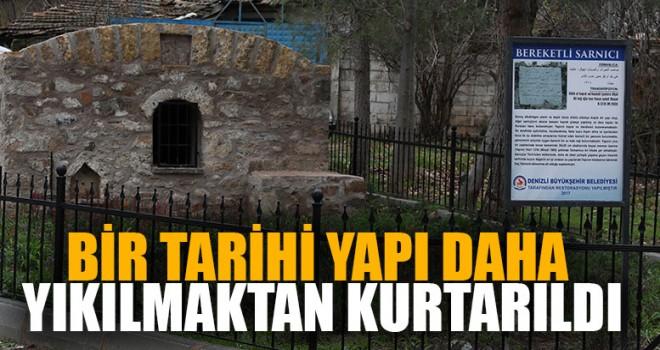 Bir Tarihi Yapı Daha Yıkılmaktan Kurtarıldı