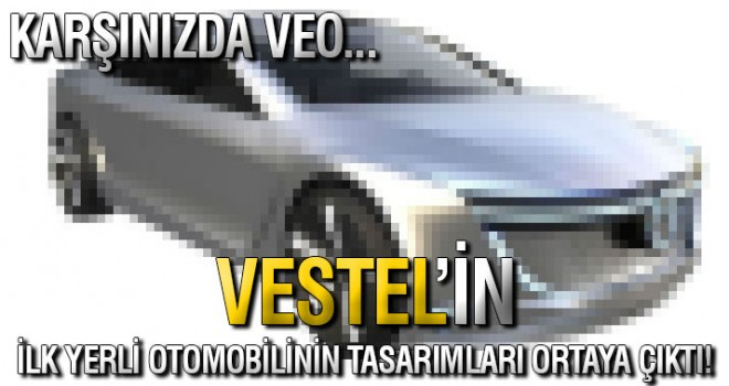 Denizlili Dev Firmadan yerli otomobili 'VEO'