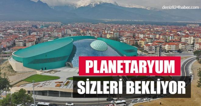Planetaryum Sizleri Bekliyor