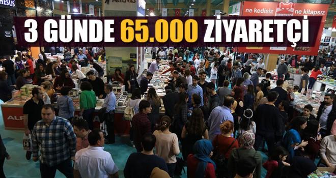 3 Günde 65.000 Ziyaretçi