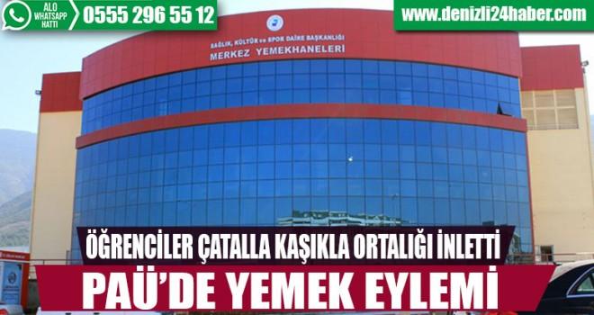 Denizli'de zam protestosu