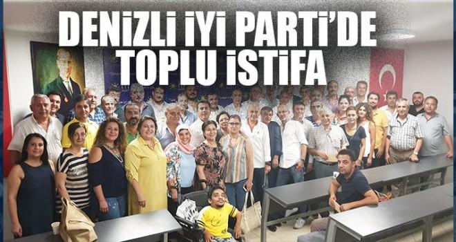 Denizli İYİ Parti'de Toplu İstifa