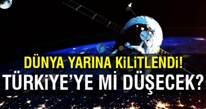 Tiangong-1 uzay istasyonu Türkiye'ye düşebilir!
