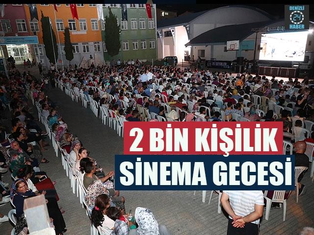 2 Bin Kişilik Sinema Gecesi