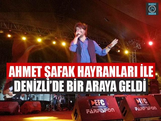Ahmet Şafak Hayranları İle Denizli'de Bir Araya Geldi