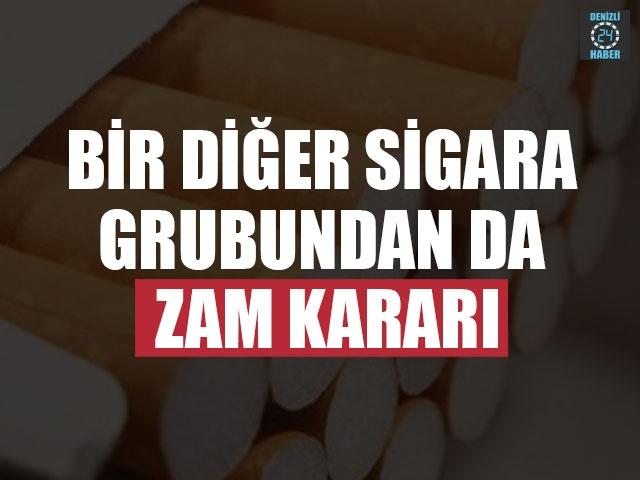 Bir Diğer Sigara Grubundan Da Zam Kararı