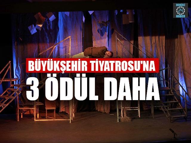 Denizli Büyükşehir Tiyatrosu'na 3 ödül daha