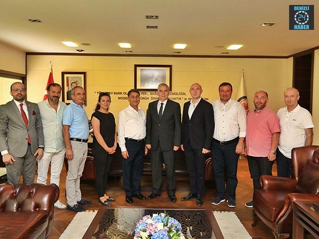 AYSİAD'dan Başkan Osman Zolan'a ziyaret
