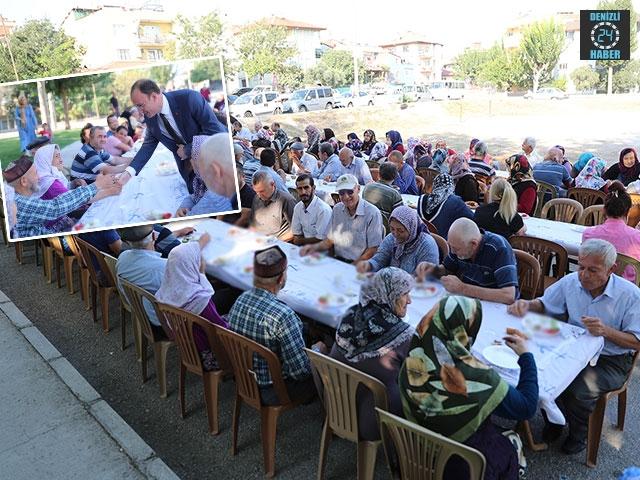 Başkan Avni Örki, Pamukkale Halkının Sorunları Dinlemeye Devam Ediyor
