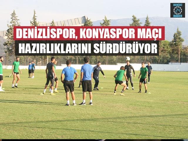 Denizlispor, Konyaspor Maçı Hazırlıklarını Sürdürüyor