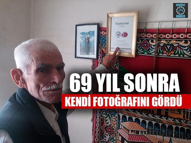 69 Yıl Sonra Kendi Fotoğrafını Gördü