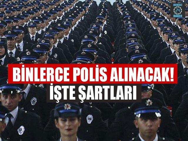 7 bin polis alınacak!