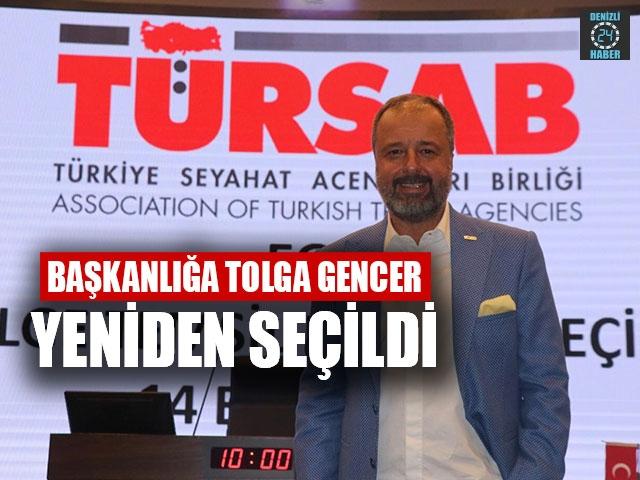 Başkanlığa Tolga Gencer yeniden seçildi.