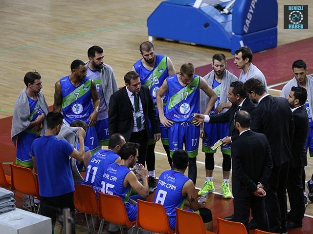 Denizli Basket Çeyrek Finalde