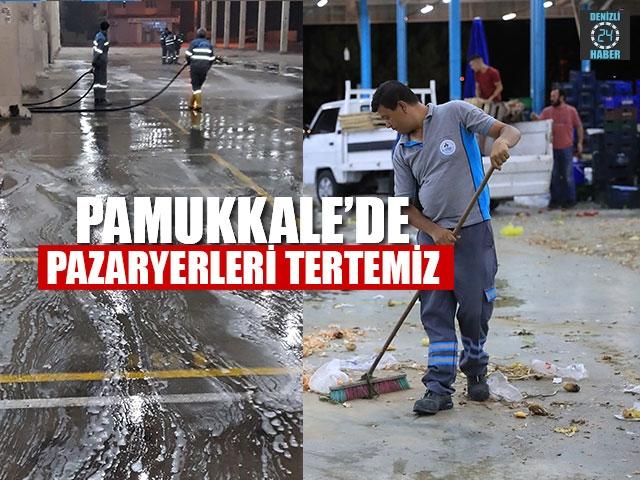 Pamukkale'de Pazaryerleri Tertemiz