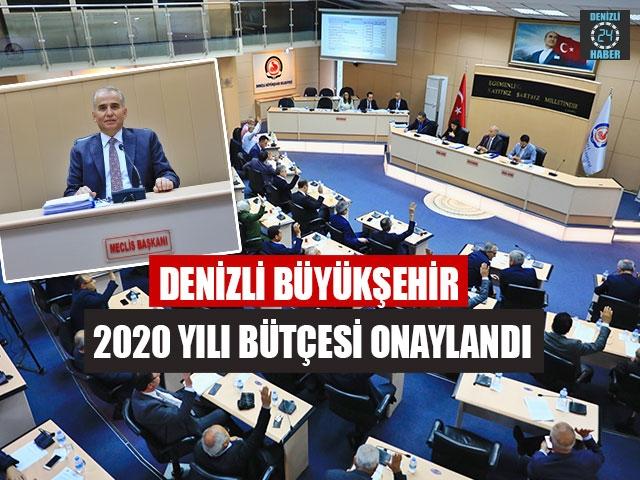 Denizli Büyükşehir 2020 Yılı Bütçesi Onaylandı