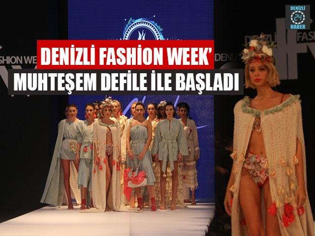 Denizli Fashion Week' Muhteşem Defile İle Başladı