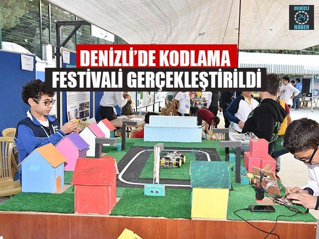 Denizli'de Kodlama Festivali Gerçekleştirildi