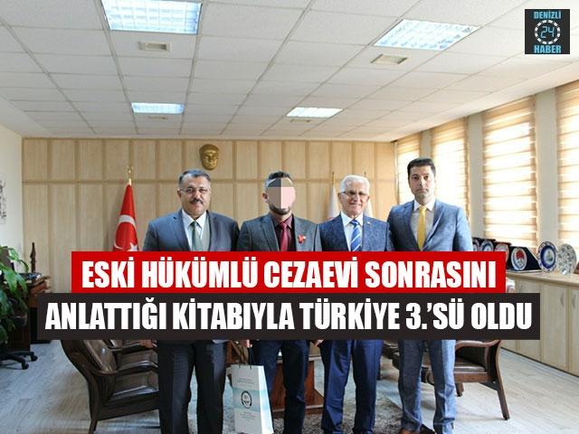 Eski Hükümlü Cezaevi Sonrasını Anlattığı Kitabıyla Türkiye 3.'Sü Oldu