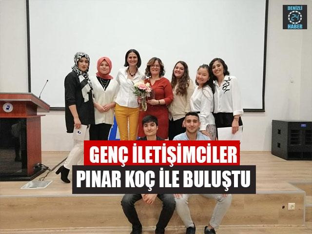 Genç İletişimciler Pınar Koç İle Buluştu