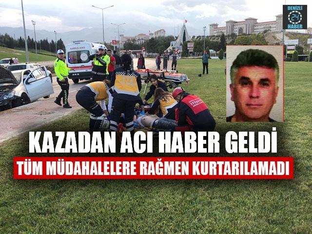 Kazadan Acı haber geldi Ufuk Solak hayatını kaybetti