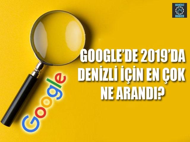 Google'da 2019'da Denizli için en çok ne arandı?