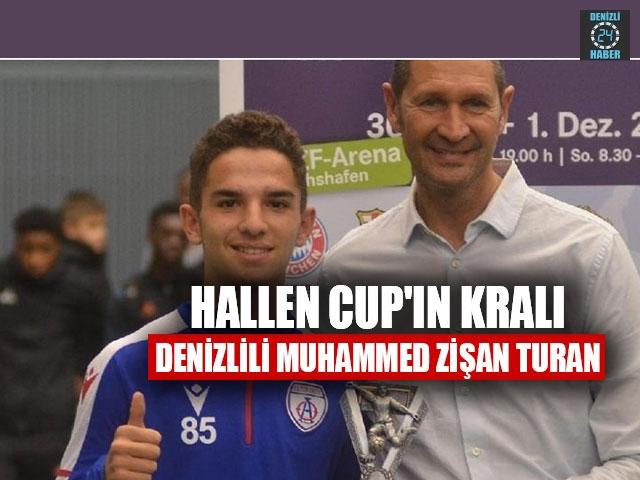 Hallen Cup'ın Kralı Denizlili Muhammed Zişan Turan