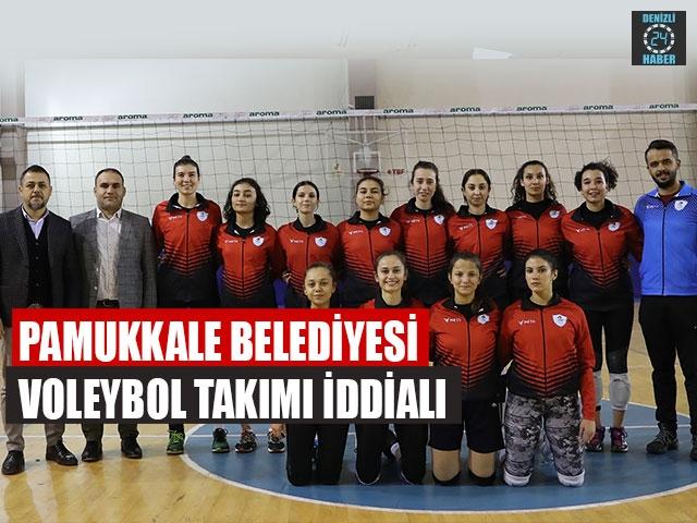 Pamukkale Belediyesi Voleybol Takımı İddialı