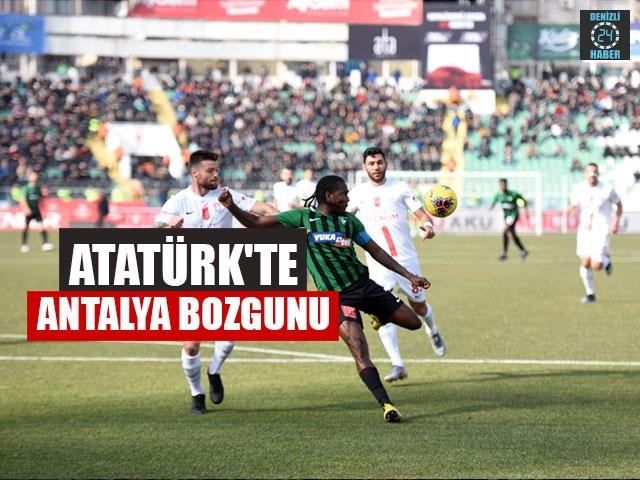 Atatürk'te Antalya Bozgunu