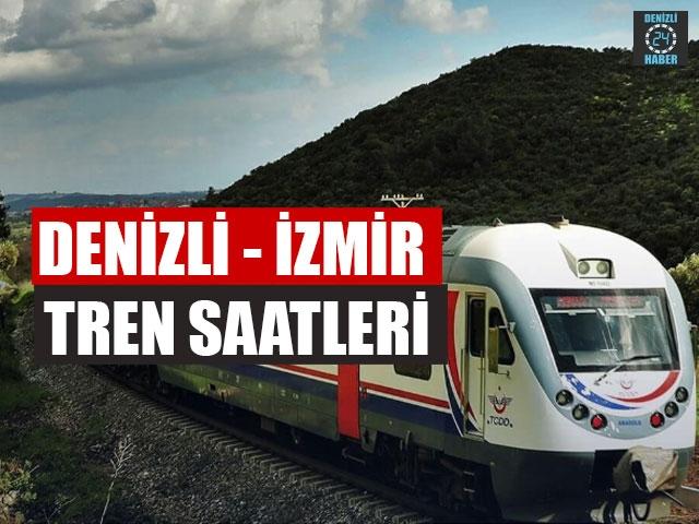 Denizli Tren saatleri, Denizli İzmir Tren saatleri (2020), Denizli Aydın tren saatleri