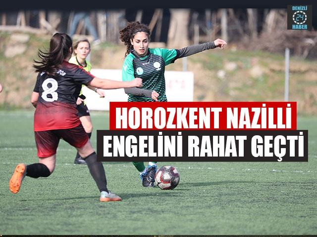 Horozkent Nazilli Engelini Rahat Geçti