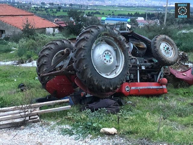 Milas'da traktörün altında kalan Dursun Öksüz hayatını kaybetti