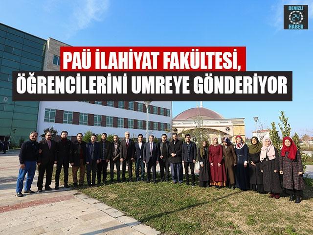 PAÜ İlahiyat Fakültesi, Öğrencilerini Umreye Gönderiyor
