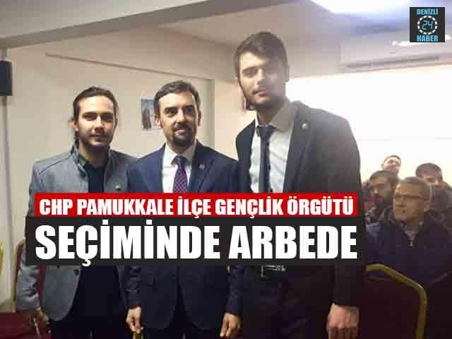 Chp Pamukkale İlçe Gençlik Örgütü Seçiminde Arbede