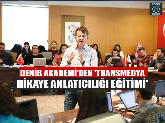 DENİB Akademi'den 'Transmedya hikaye anlatıcılığı eğitimi'