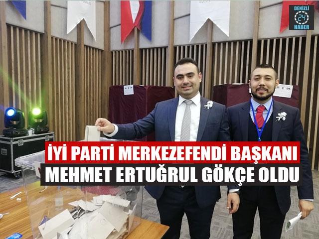 İYİ Parti Merkezefendi İlçe Başkanı Mehmet Ertuğrul Gökçe Oldu