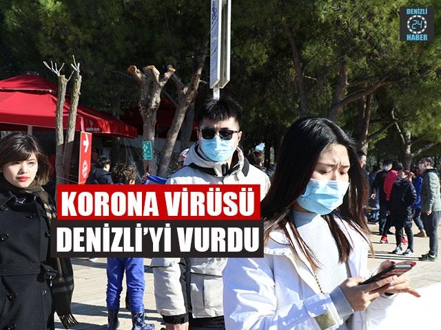 Korona Virüsü Denizli'yi Vurdu