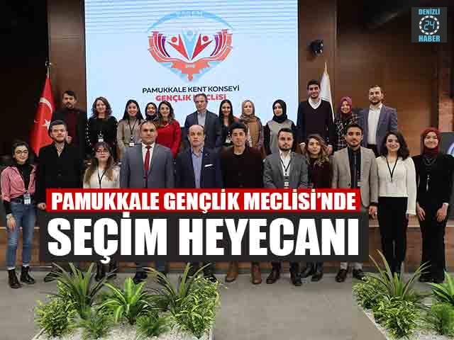 Pamukkale Gençlik Meclisi'nde Seçim Heyecanı