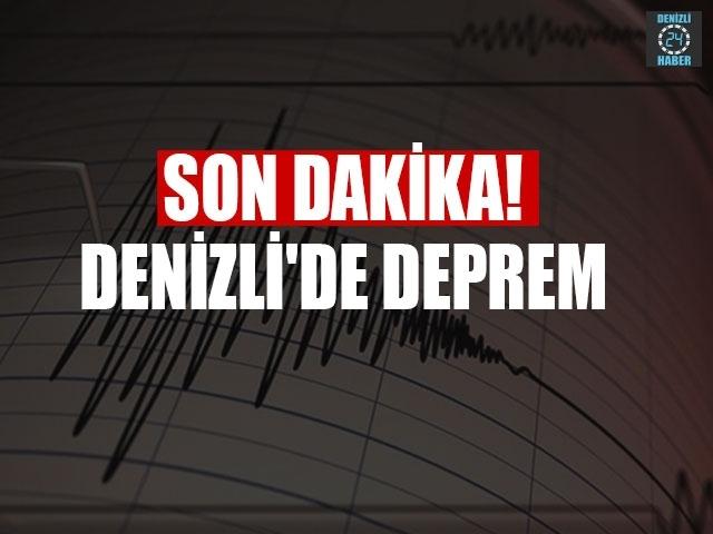 Son dakika Denizli'de deprem