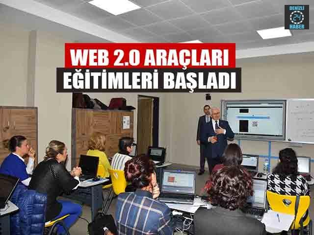 Web 2.0 Araçları Eğitimleri Başladı